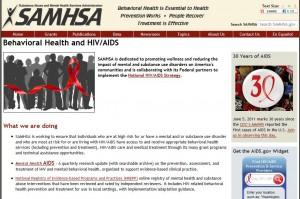 SAMHSA Behavioral Health and HIV/AIDS