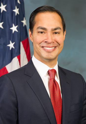 Secretary Julián Castro, HUD.
