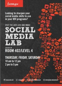 social media lab at usca postcard