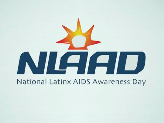 NLAAD logo - National Latinx AIDS Awareness Day