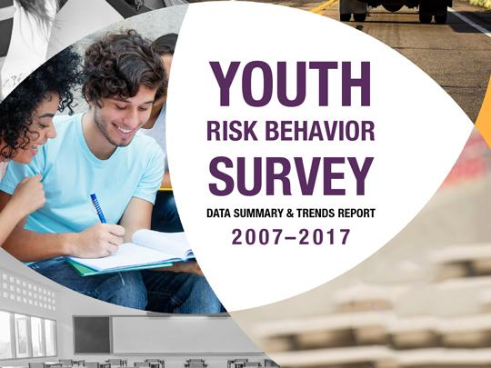 Cover of the Youth Risk Behavior Survey: Data Summary and Trends Report: 2007-2017
