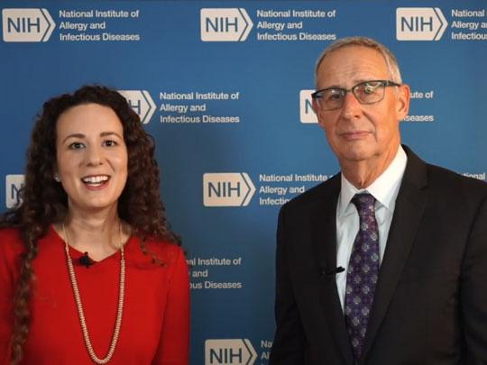 Anne Rancourt and Carl Dieffenbach from NIH spoke on Facebook live discussing Ending the HIV Epidemic: A Plan for America and the role of NIH-supported research centers across the US.