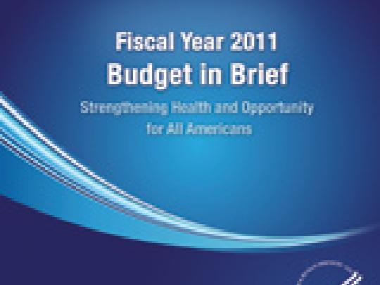 Fiscal Year 2011 Budget in Brief