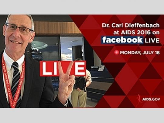 Carl FB Live AIDS2016 - Day 1 - resized