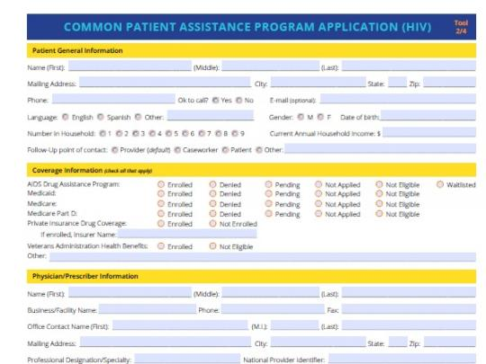 Image on the Common Assistance Application