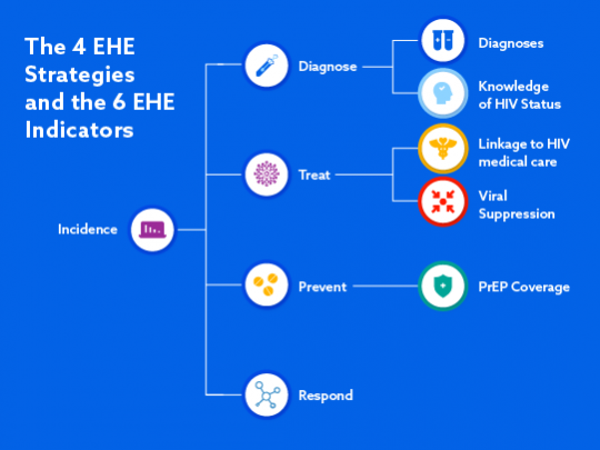 The 4 EHE Strategies and the 6 EHE Indicators