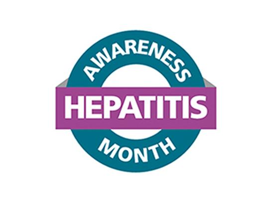 Hepatitis Awareness Month Logo