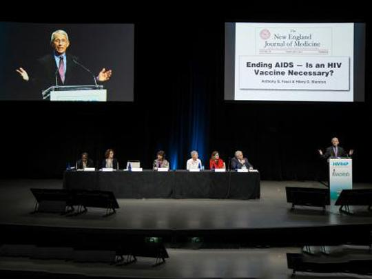 Dr. Fauci speaks at HIV R4P.