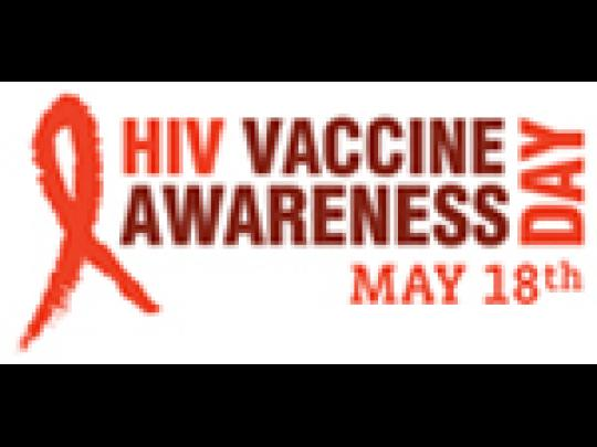 HIV Vaccine Awareness Day: May 18th
