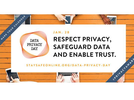 flyer for data privacy day