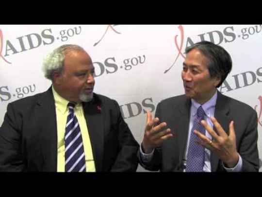 Ambasaddor Goosby and Dr. Howard Koh