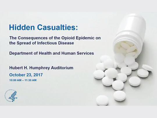 Opening slide of the Hidden Casualties webinar
