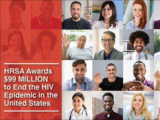 HRSA Awards $99 Million to the End the HIV Epidemic in the United States