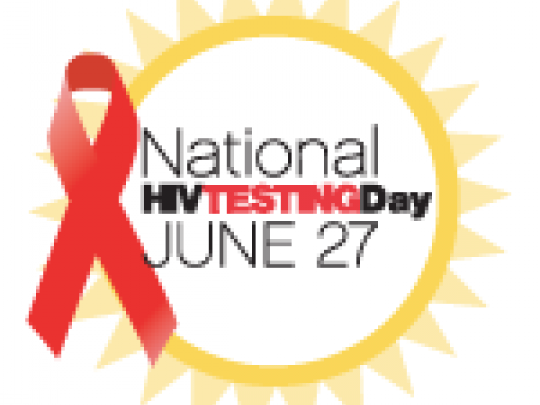 June 26 - National HIV Testing Day