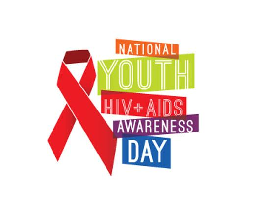 National Youth HIV + AIDS Awareness Day Logo