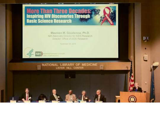 NIH Panel on World AIDS Day