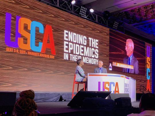 Dr. Fauci speaks at USCA 2019.
