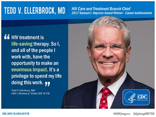 hiv and care treatment chief tedd ellerbrock