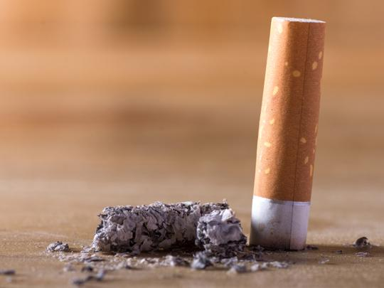 photo-of-a-cigarette-being-put-out