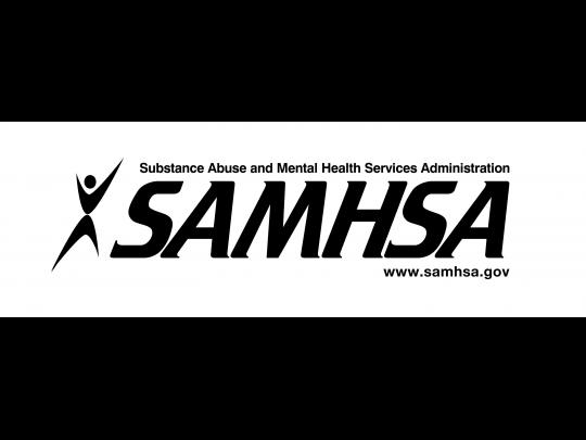 Substance Abuse and Mental Health Services Administration logo