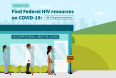 COVID-19 and People with HIV: Resources and Information